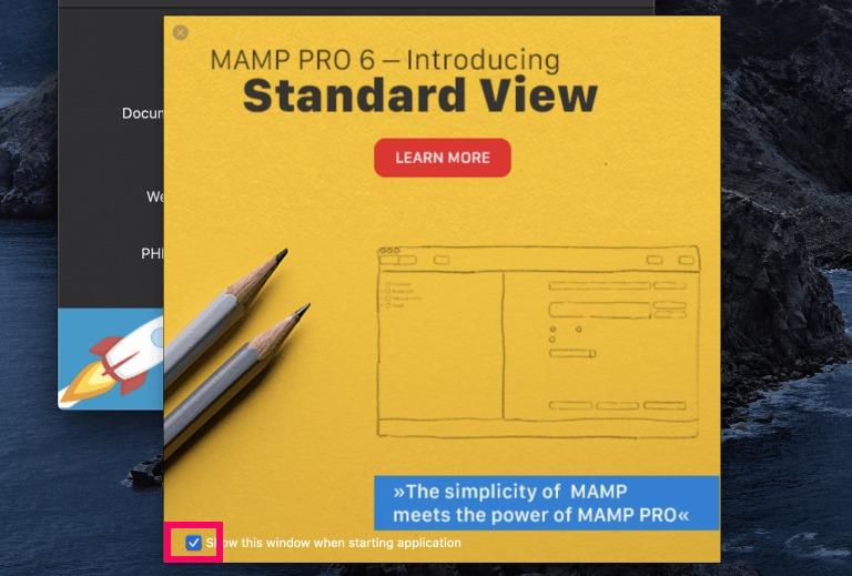 MAMPの広告